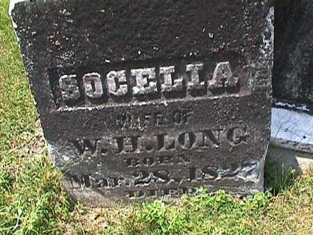LONG, SOCELIA - Henry County, Iowa | SOCELIA LONG