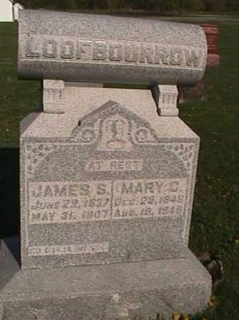 LOOFBOURROW, MARY C. - Henry County, Iowa   MARY C. LOOFBOURROW