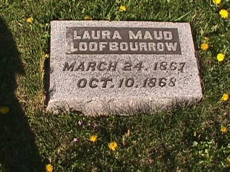 LOOFBOURROW, LAURA MAUD - Henry County, Iowa   LAURA MAUD LOOFBOURROW
