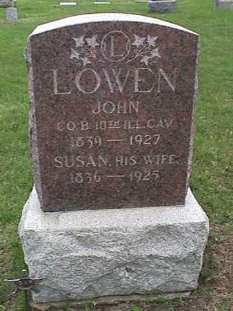LOWEN, SUSAN - Henry County, Iowa | SUSAN LOWEN