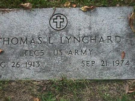 LYNCHARD, THOMAS L - Henry County, Iowa   THOMAS L LYNCHARD