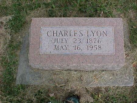 LYON, CHARLES - Henry County, Iowa | CHARLES LYON