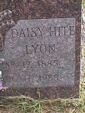 HITE LYON, DAISY - Henry County, Iowa | DAISY HITE LYON
