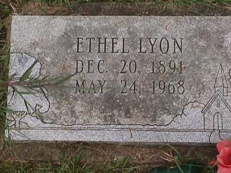 LYON, ETHEL - Henry County, Iowa | ETHEL LYON