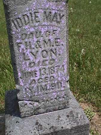 LYON, IDDIE MAE - Henry County, Iowa | IDDIE MAE LYON