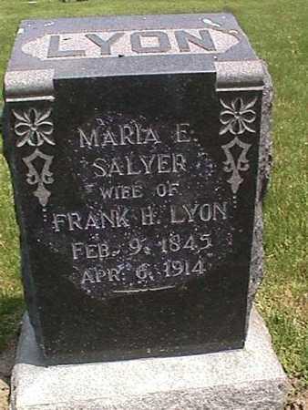 LYON, MARIA - Henry County, Iowa | MARIA LYON