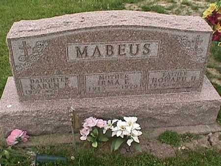 MABEUS, IRMA - Henry County, Iowa | IRMA MABEUS
