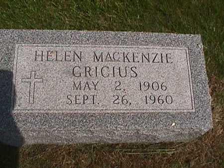 MACKENZIE, HELEN - Henry County, Iowa   HELEN MACKENZIE