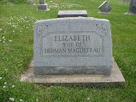MAGDEFRAU, ELIZABETH - Henry County, Iowa | ELIZABETH MAGDEFRAU