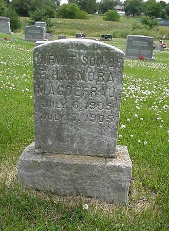 MAGDEFRAU, INFANT SON - Henry County, Iowa | INFANT SON MAGDEFRAU