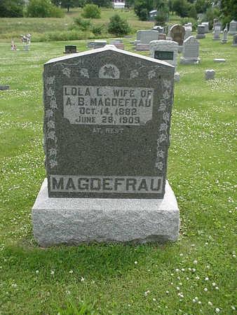 MAGDEFRAU, LOLA L. - Henry County, Iowa | LOLA L. MAGDEFRAU