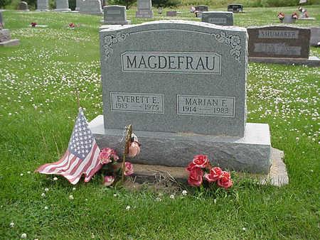 MAGDEFRAU, MARIAN F. - Henry County, Iowa | MARIAN F. MAGDEFRAU
