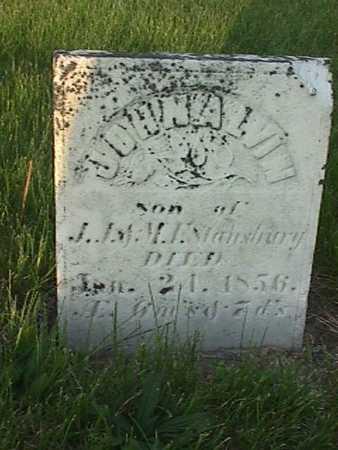 MAISHURY, JOHN ALVIN - Henry County, Iowa | JOHN ALVIN MAISHURY