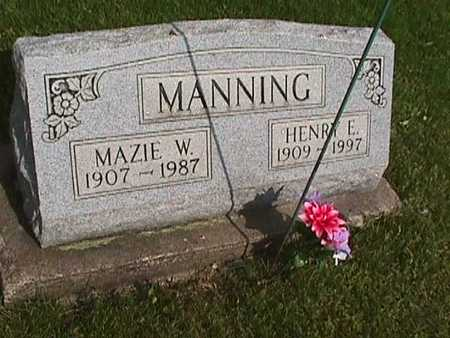MANNING, HENRY - Henry County, Iowa | HENRY MANNING