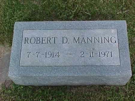 MANNING, ROBERT D. - Henry County, Iowa | ROBERT D. MANNING