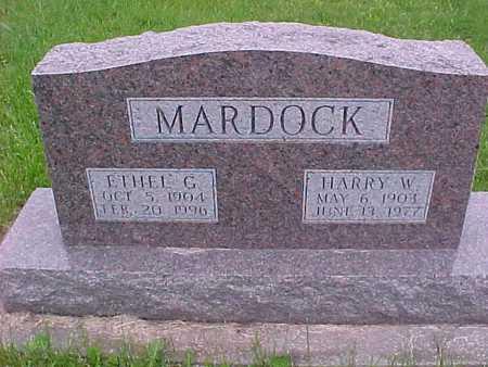 MARDOCK, HARRY - Henry County, Iowa   HARRY MARDOCK