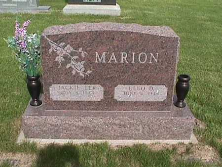 MARION, JACKIE - Henry County, Iowa | JACKIE MARION