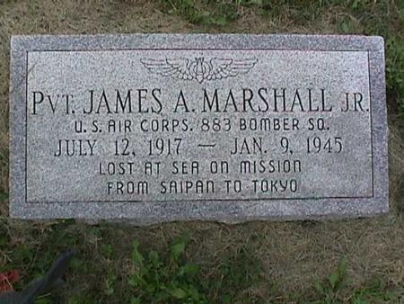 MARSHALL, JAMES A. - Henry County, Iowa   JAMES A. MARSHALL
