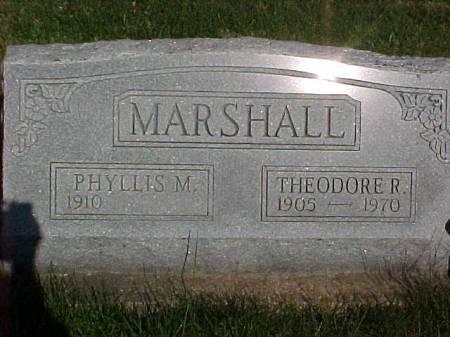 MARSHALL, THEODORE R. - Henry County, Iowa | THEODORE R. MARSHALL
