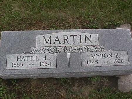 MARTIN, HATTIE - Henry County, Iowa | HATTIE MARTIN