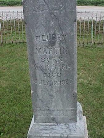 MARTIN, REUBEN - Henry County, Iowa | REUBEN MARTIN