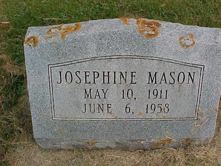 MASON, JOSEPHINE - Henry County, Iowa | JOSEPHINE MASON