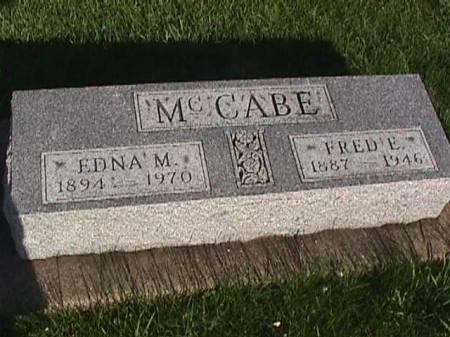 MCCABE, EDNA M. - Henry County, Iowa | EDNA M. MCCABE