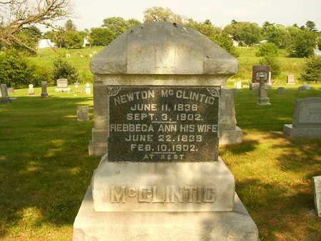 MCCLINTIC, REBBECA ANN - Henry County, Iowa | REBBECA ANN MCCLINTIC