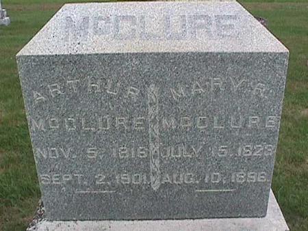 MCCLURE, MARY - Henry County, Iowa | MARY MCCLURE