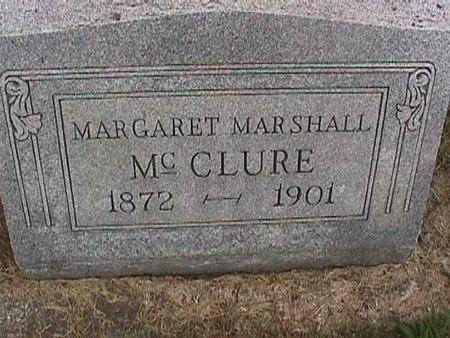 MARSHALL MCCLURE, MARGARET - Henry County, Iowa | MARGARET MARSHALL MCCLURE