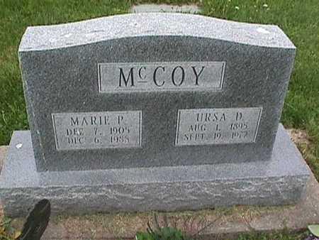 MCCOY, URSA - Henry County, Iowa | URSA MCCOY
