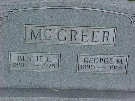 MCGREER, GEORGE M. - Henry County, Iowa   GEORGE M. MCGREER