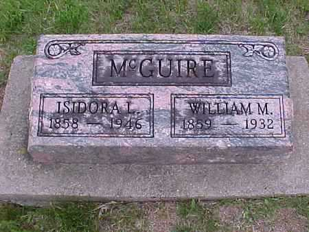 MCGUIRE, ISIDORA L. - Henry County, Iowa | ISIDORA L. MCGUIRE