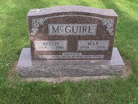 MCGUIRE, MAX - Henry County, Iowa   MAX MCGUIRE