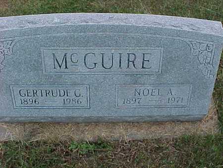 MCGUIRE, GERTRUDE - Henry County, Iowa | GERTRUDE MCGUIRE