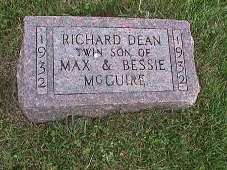 MCGUIRE, RICHARD DEAN - Henry County, Iowa | RICHARD DEAN MCGUIRE
