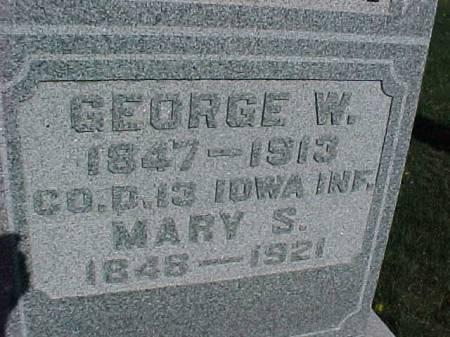 ALTON, GEORGE W. - Henry County, Iowa | GEORGE W. ALTON