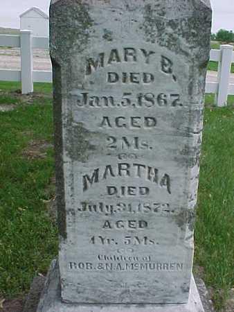 MCMURREN, MARY - Henry County, Iowa | MARY MCMURREN