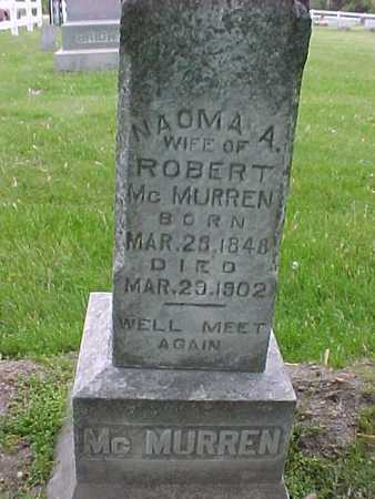 MCMURREN, NAOMA - Henry County, Iowa | NAOMA MCMURREN