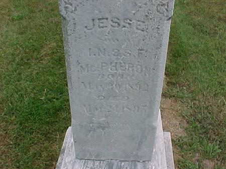 MCPHERON, JESSE - Henry County, Iowa | JESSE MCPHERON