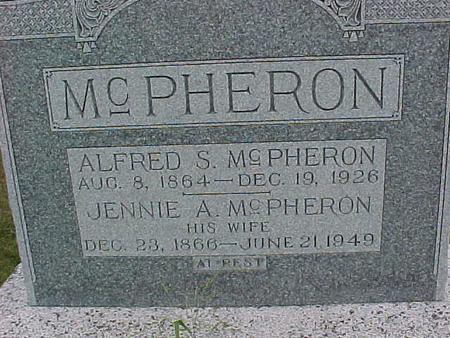 MCPHERRON, JENNIE - Henry County, Iowa | JENNIE MCPHERRON