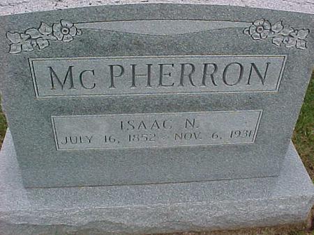 MCPHERRON, ISAAC - Henry County, Iowa | ISAAC MCPHERRON