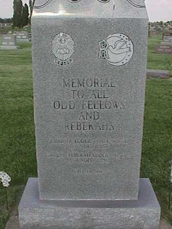 MEMORIAL, ODD FELOWS AND REBEKAHS - Henry County, Iowa | ODD FELOWS AND REBEKAHS MEMORIAL