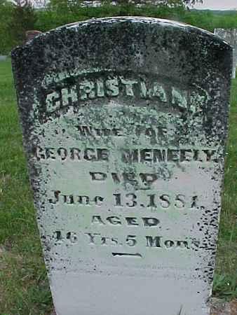 MENEELY, CHRISTINA - Henry County, Iowa | CHRISTINA MENEELY