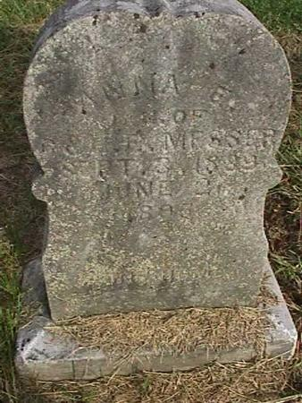 MESSER, ANNA E - Henry County, Iowa | ANNA E MESSER
