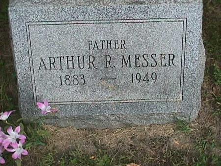 MESSER, ARTHUR R. - Henry County, Iowa | ARTHUR R. MESSER