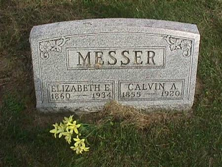 MESSER, CALVIN A - Henry County, Iowa | CALVIN A MESSER