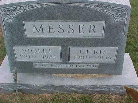 MESSER, VIOLET - Henry County, Iowa | VIOLET MESSER