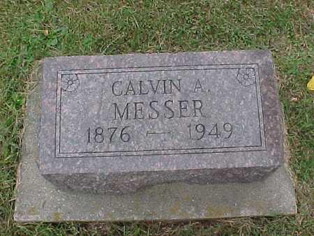 MESSER, CALVIN A. - Henry County, Iowa   CALVIN A. MESSER