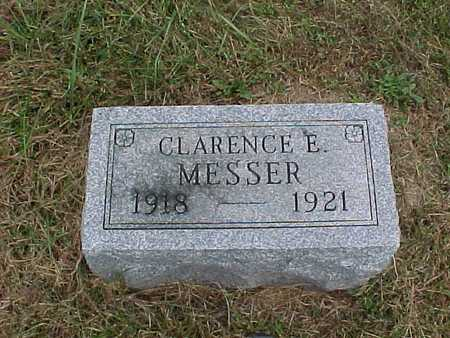 MESSER, CLARENCE E. - Henry County, Iowa | CLARENCE E. MESSER